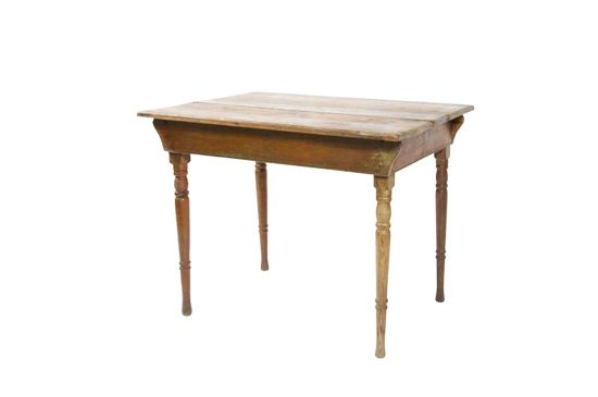 Second Shout Out 1880's Farm Table