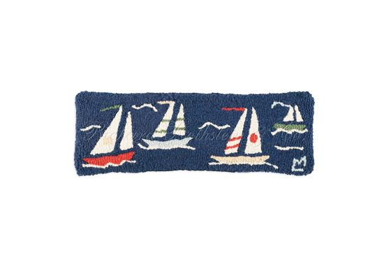 Needlepoint Pillows Nautical Boat Pillow