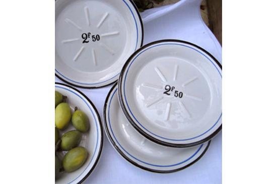 Vintage Weave  Vintage French Appetizer Plates