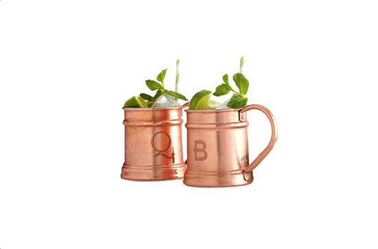Mark and Graham Copper Mug