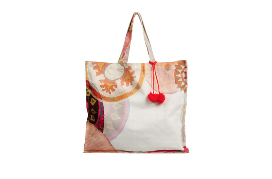 Net-A-Porter Sophie Anderson Spiro Large Printed Cotton-Canvas Tote