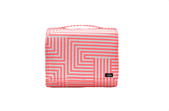 Kate Spade Saturday Large Squared-Away Cosmetic Case