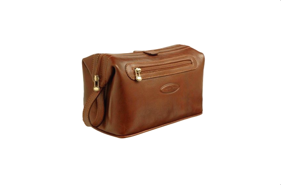 Maxwell Scott Large Dopp Kit