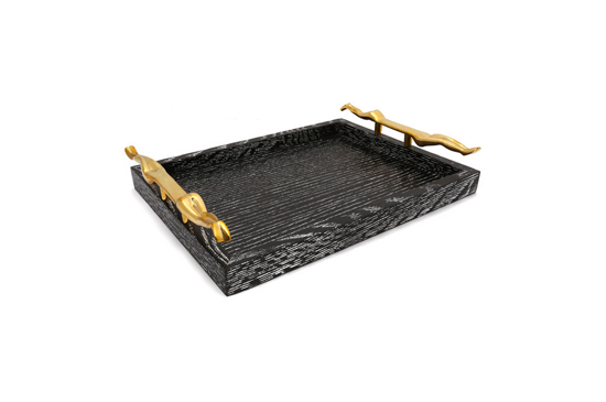 Kelly Wearstler Quatrain Small Figural Tray