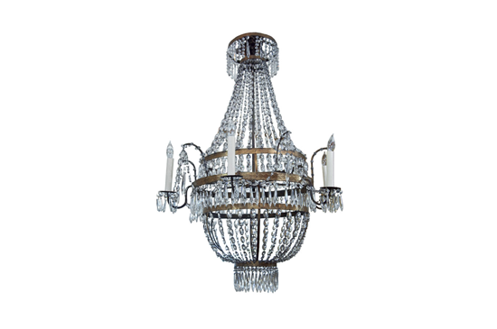 1stdibs Fine Pair Of Austrian Crystal Chandeliers