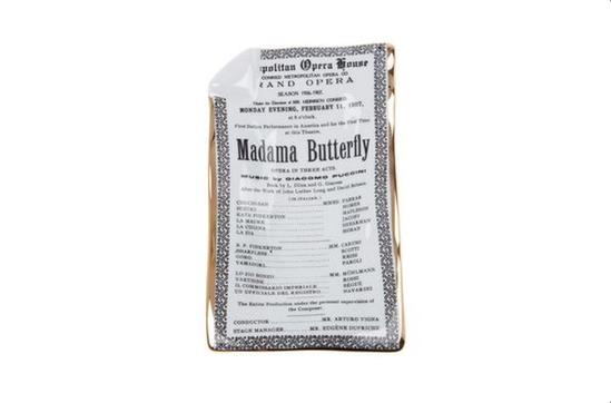 Farfetch Fornasettie \'Madama Butterfly\' Ashtray