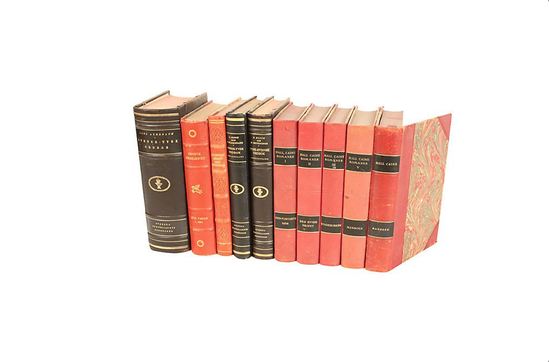 One Kings Lane Decorative Leather Books