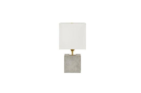 Horchow Concrete Cube Mini Lamp