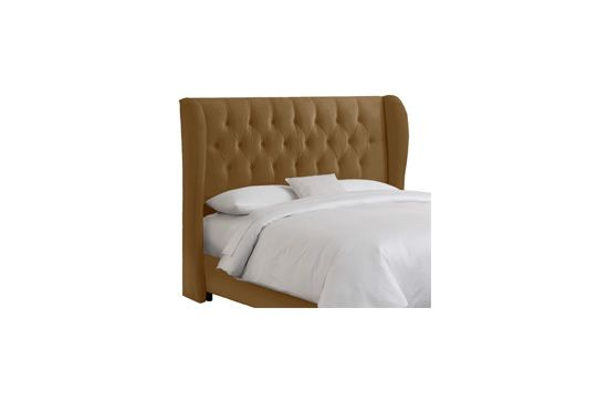 Wayfair Tufted Wingback Headboard