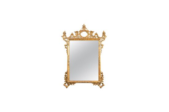 1st Dibs Italian Gilt Carved Mirror