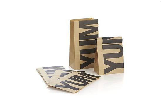Crate & Barrel Yum Paper Bags