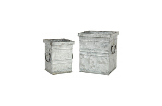 Jayson Home Galvanized Tin Containers, from $14