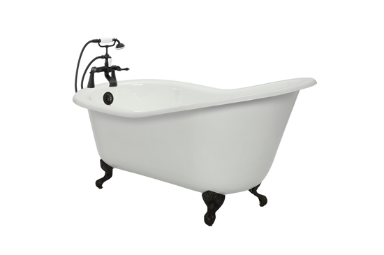 American Bath Factory Lyon Cast-Iron Bathtub