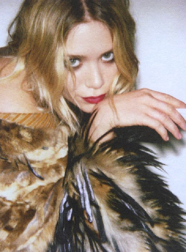 Mary-Kate Olsen shot for Self Service in 2008.