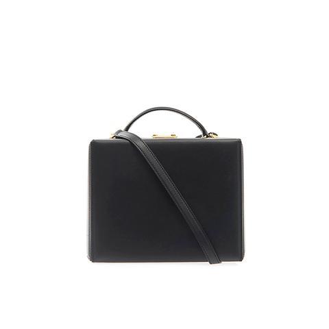 Grace Large Leather Box Bag