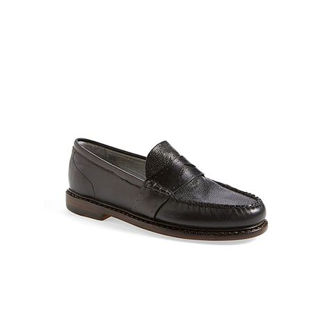 Clarendon Leather Penny Loafers