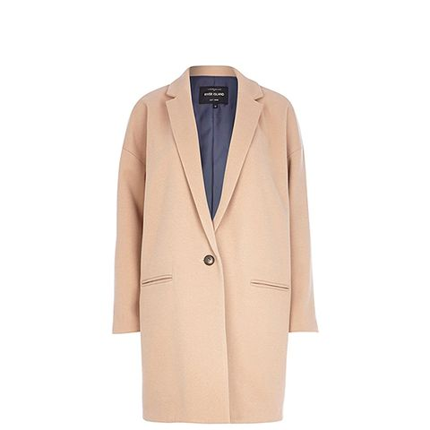 Camel Oversized Coat