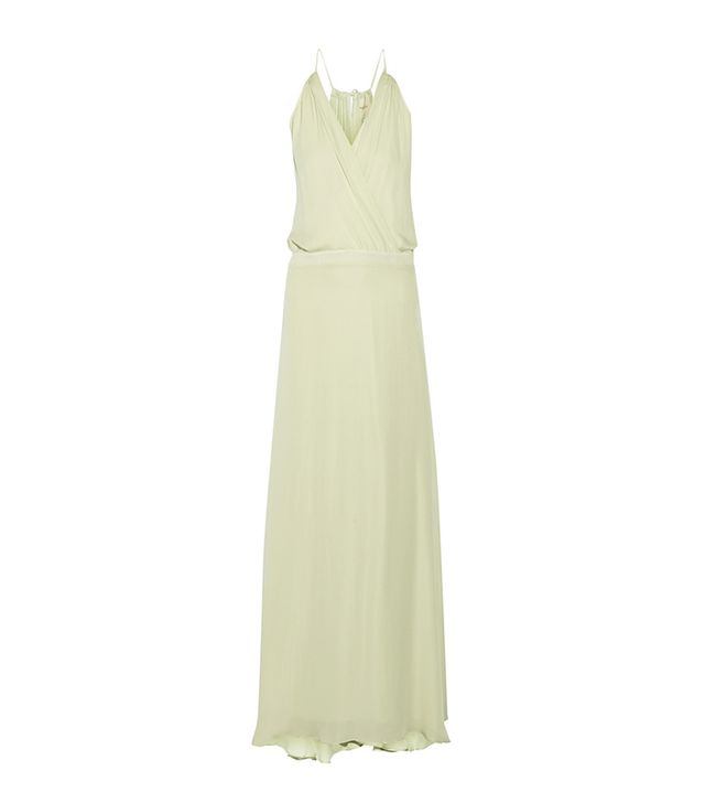 Mason by Michelle Mason Silk-Georgette Maxi Dress