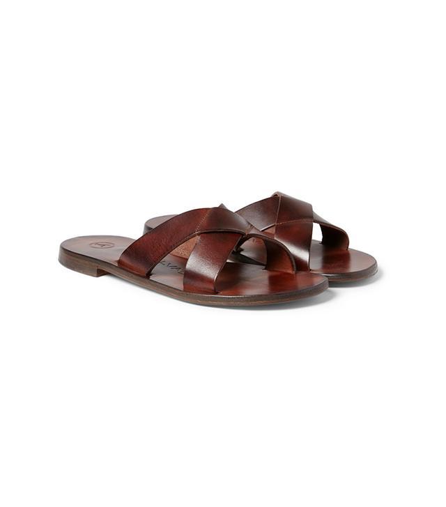 Álvaro Leather Sandals