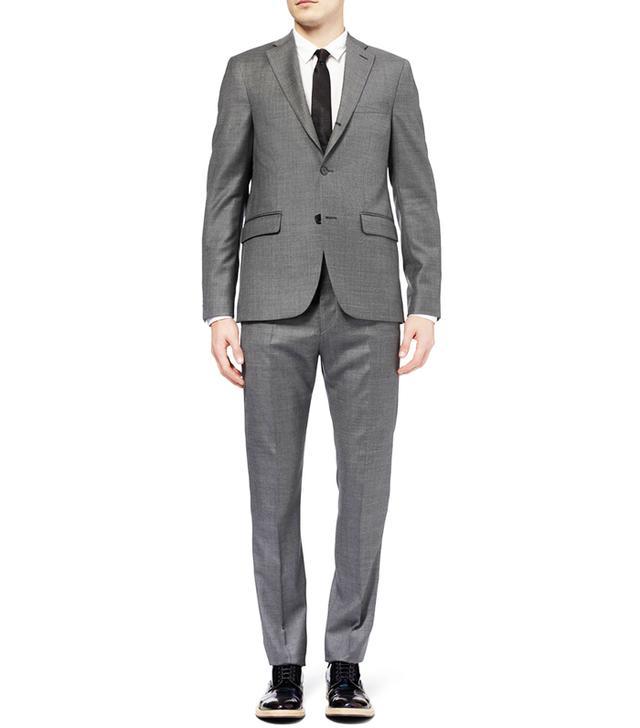 Acne Studios Grey Drifter Slim-Fit Wool Suit