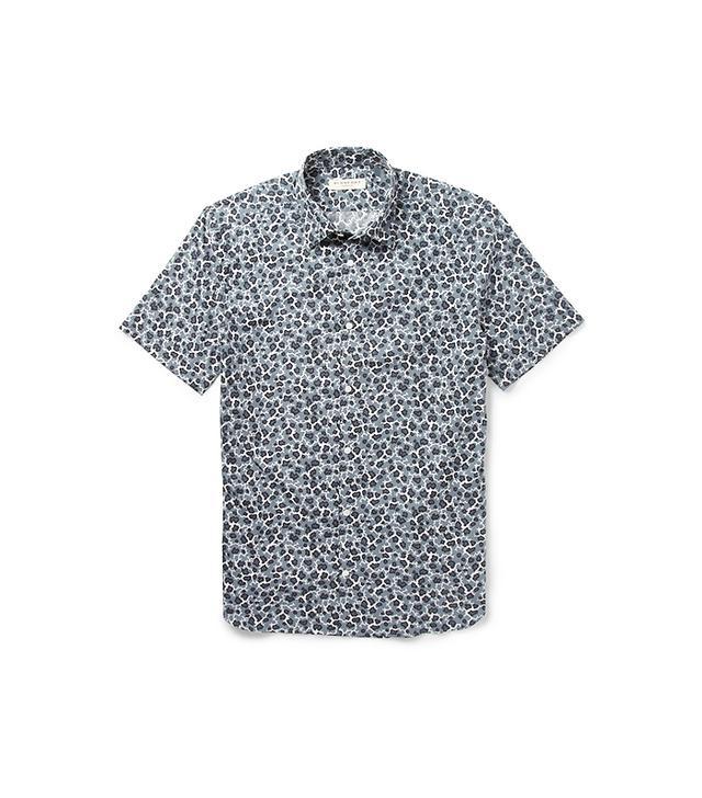 Burberry Slim-Fit Printed Shirt