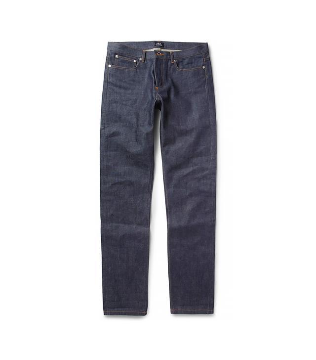 Jean Shop Slim-Fit Rinsed Jeans