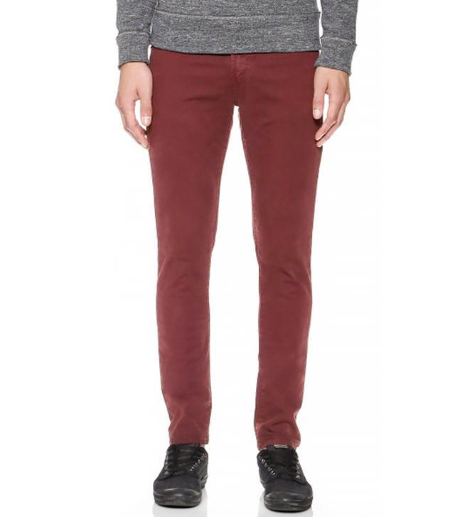 J Brand Mick Garment Dyed Skinny Jeans