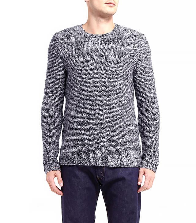 Hentsch Man Ribbed Wool-Blend Sweater