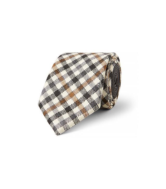 Etro Gingham Tie