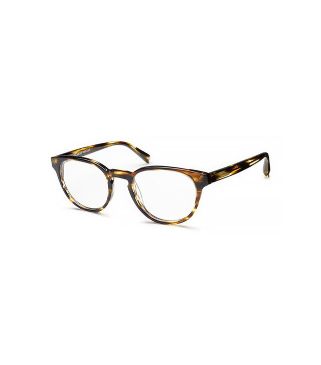 Warby Parker Percey Striped Sassafras Glasses