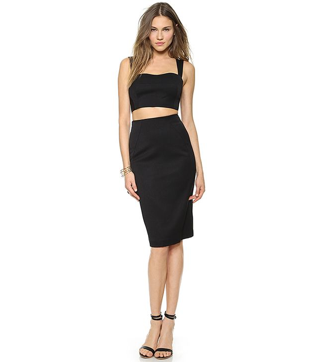 Black Halo Kayley 2 Piece Dress
