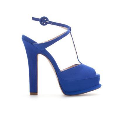 Zara Platform Heel Sandal