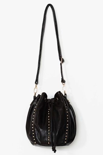 Nasty Gal Joss Studded Bucket Bag