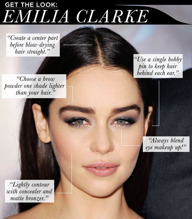 Get The Look Emilia Clarke Whowhatwear