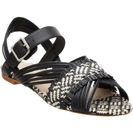 Loeffler Randall  Raffia Lolly Sandals