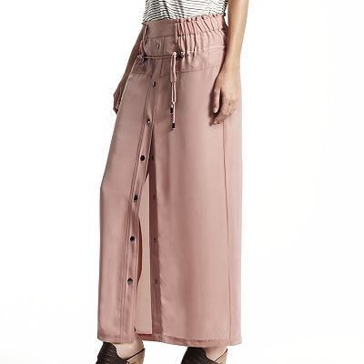 Derek Lam for DesigNation Solid Maxi Skirt
