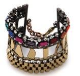 Iosselliani  Iosselliani Multi Stone Watch Link Bracelet