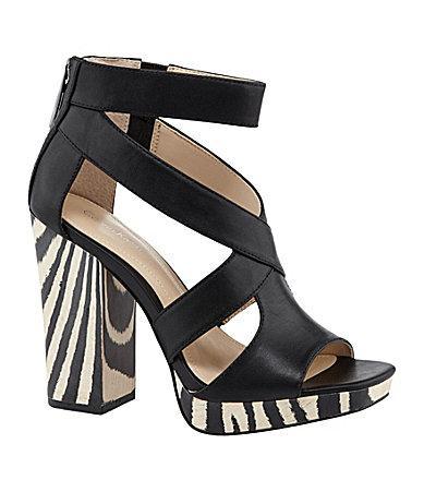 Calvin Klein  Verene Platform Sandals