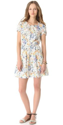 Juicy Couture  Hothouse Floral Print Dress