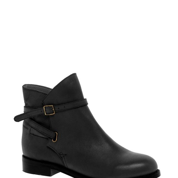 ASOS  Altitude Leather Jodhpur Ankle Boots