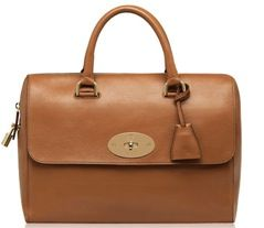 Mulberry Mulberry Del Ray Grainy Print Leather