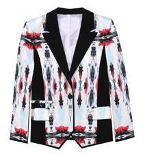 ICB  ICB Mirrored Ink Blot Print Tuxedo Jacket