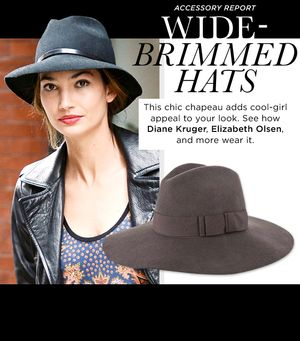 Polish Your Look With A Stylish Wide-Brim Hat