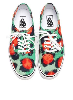 Stylish Kicks From The Latest Kenzo x Vans Collaboration