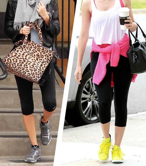 Stay Stylish At The Gym In These Celebrity Looks