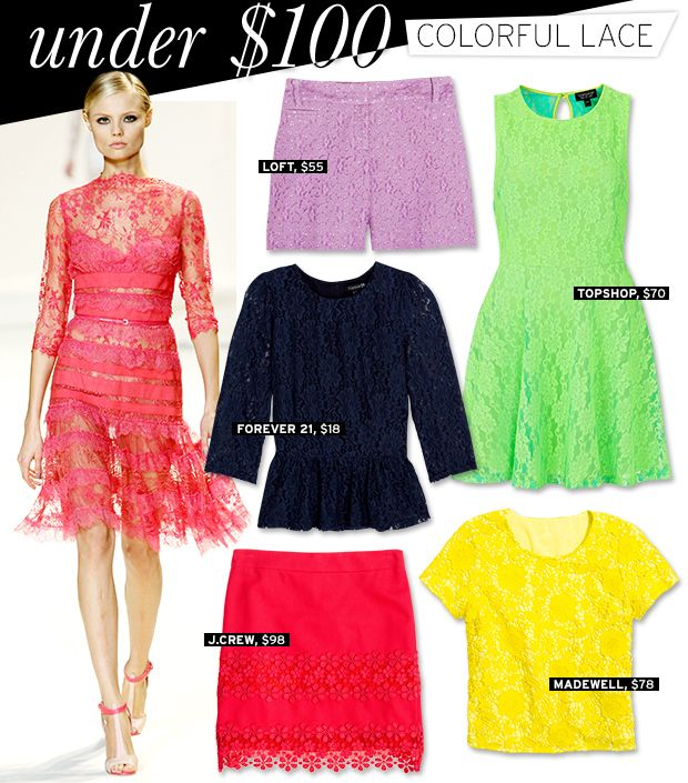Colourful Lace That Packs A Punch