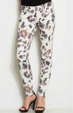 Armani Exchange  Armani Exchange Animal Print Legging Pants