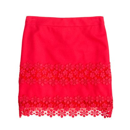 J.Crew  Daisy Lace Mini
