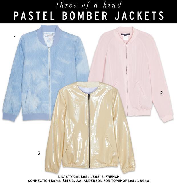 The Bomber Jacket Lightens Up For Spring