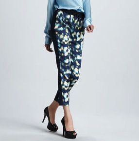 Elizabeth and James Gwen Printed Drawstring Pants